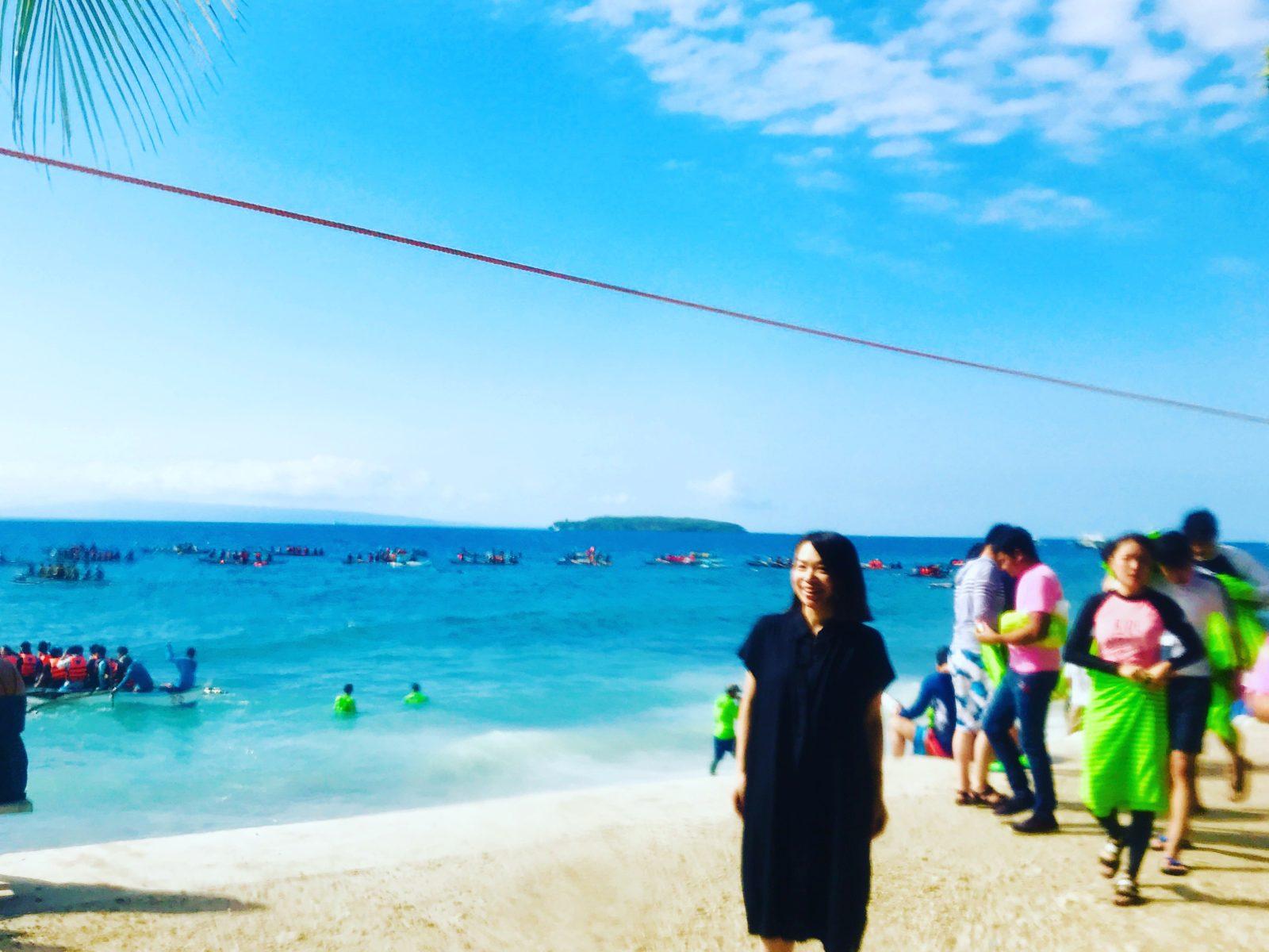 フィリピン③ セブ島の2大観光地、OslobとKawasanへ!