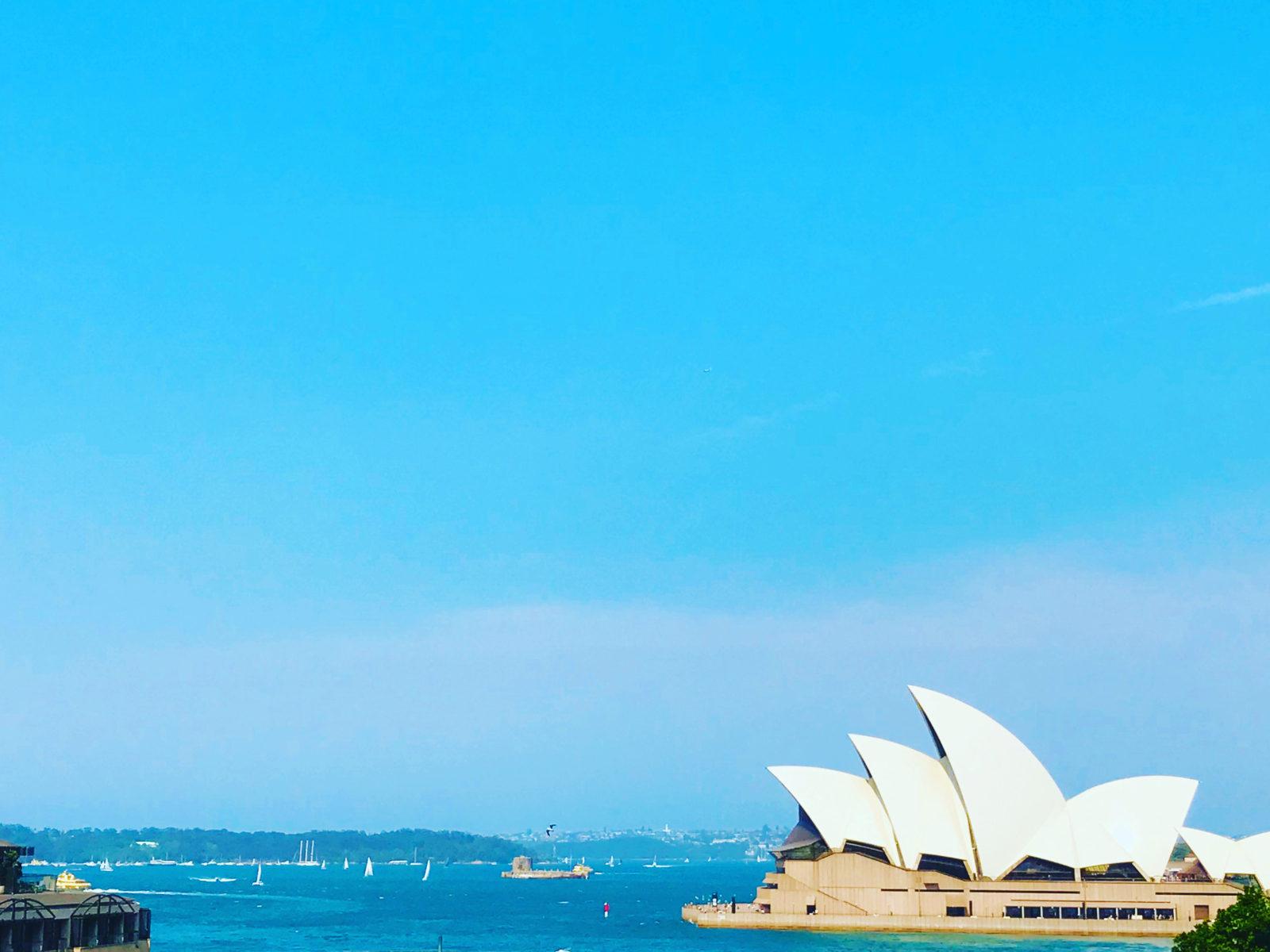 ついに到着!「幸福度が高くて、温暖」な代表国へ。(オーストラリア1/5)